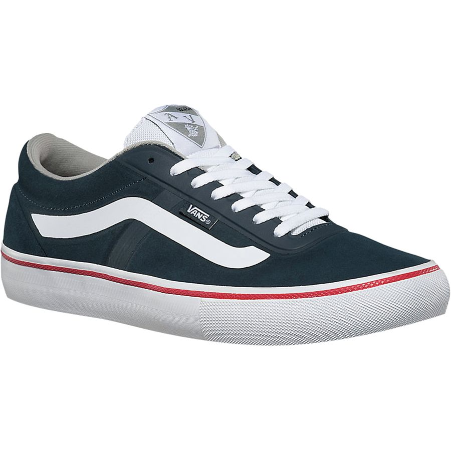 Vans AV Rapidweld Pro Skate Shoe - Men's Midnight Navy White アウトドア メンズ 男性用 靴 スケートシューズ Skate Shoes