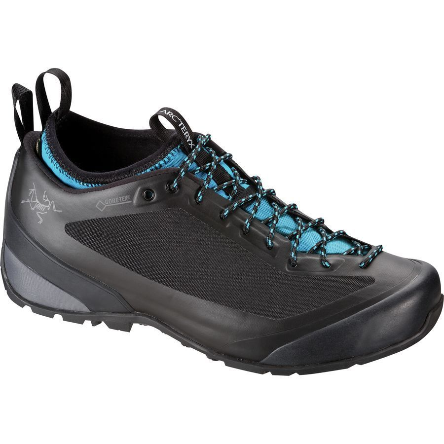 Arc'teryx Acrux2 FL Approach Shoe - Men's Black Big Surf アウトドア メンズ 男性用 靴 アプローチシューズ Approach Shoes