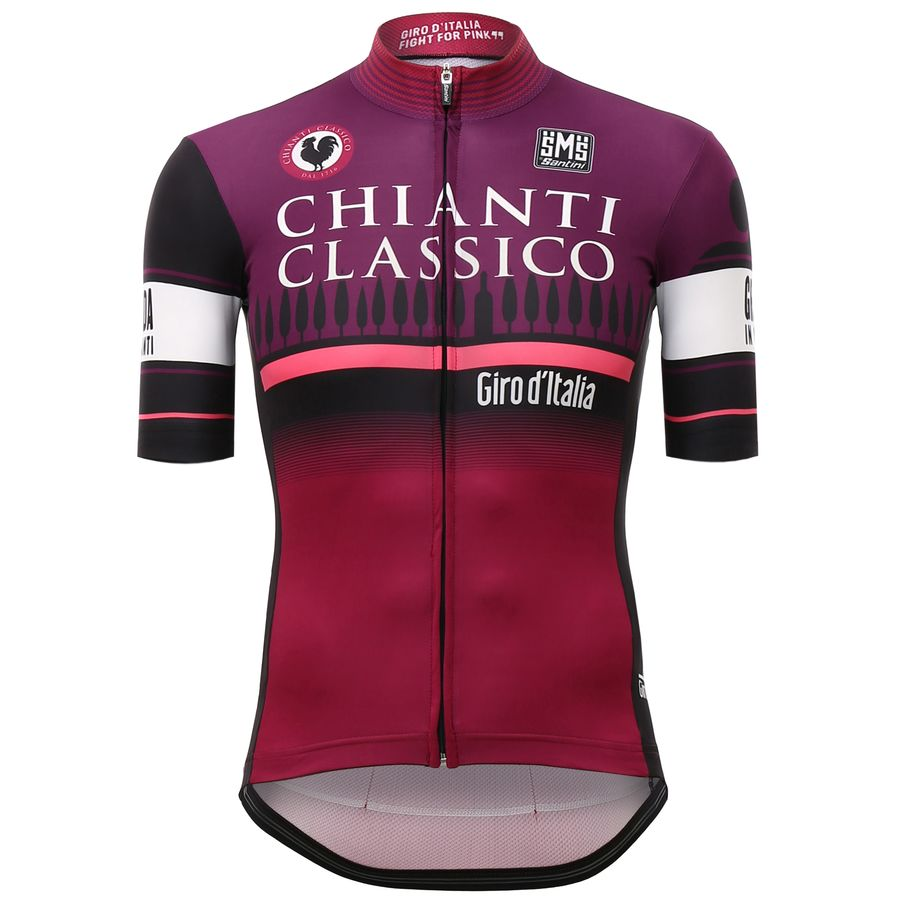 Santini The Chianti Time Trial Jersey - Short-Sleeve - Men's One Color アウトドア メンズ 男性用 バイクウェア バイクジャージ 自転車