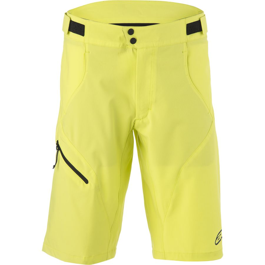 Alpinestars Pathfinder Base Shorts - w o Chamois - Men's Acid Yellow Abyss Blue アウトドア メンズ 男性用 バイク 自転車 ビブショーツ