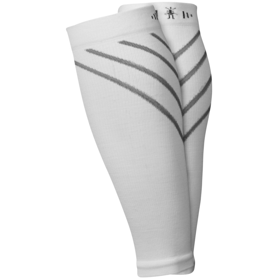 SmartWool PhD Compression Calf Sleeve White