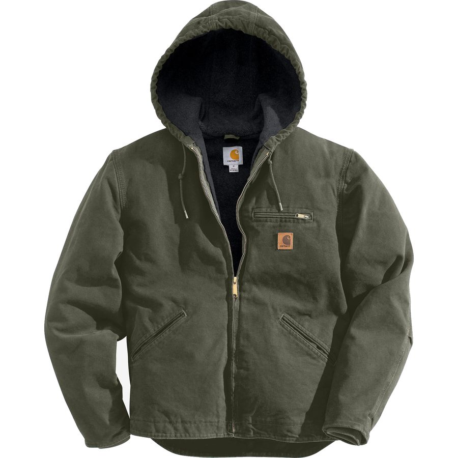 楽天市場 carhartt sierra hooded jacket men s moss black accents