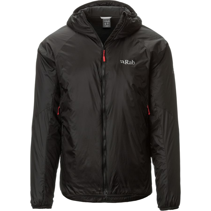Rab Backcountry Exclusive Alpinist Xenon X Insulated Jacket - Men's Black Black メンズ 男性用 アウトドア ジャケット コート アウター Casual Jackets