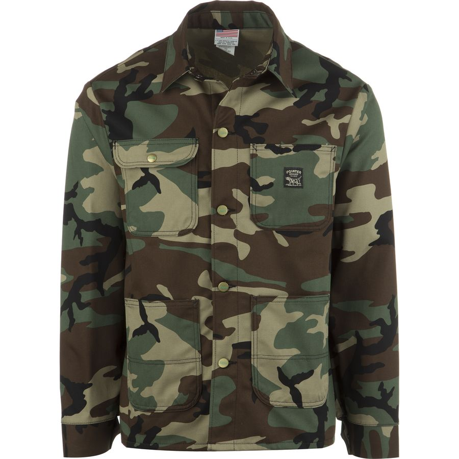 Pointer Brand Woodland Camo Chore Coat - Men's Woodland Camo メンズ 男性用 アウトドア ジャケット コート アウター Casual Jackets