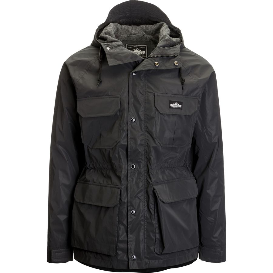 Penfield Kasson Reflective Hooded Mountain Parka - Men's Black メンズ 男性用 アウトドア ジャケット コート アウター Casual Jackets