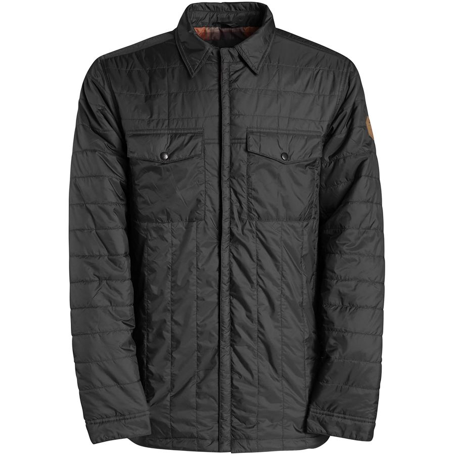 Billabong Mitchell Insulator Shirt Jacket - Men's Anthracite メンズ 男性用 アウトドア ジャケット コート アウター Casual Jackets