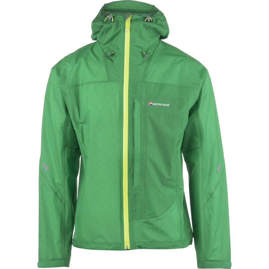 Montane Minimus Jacket - Men's Rocket Green Rocket Green Zips Laser Green Details メンズ 男性用 アウトドア ジャケット コート アウター