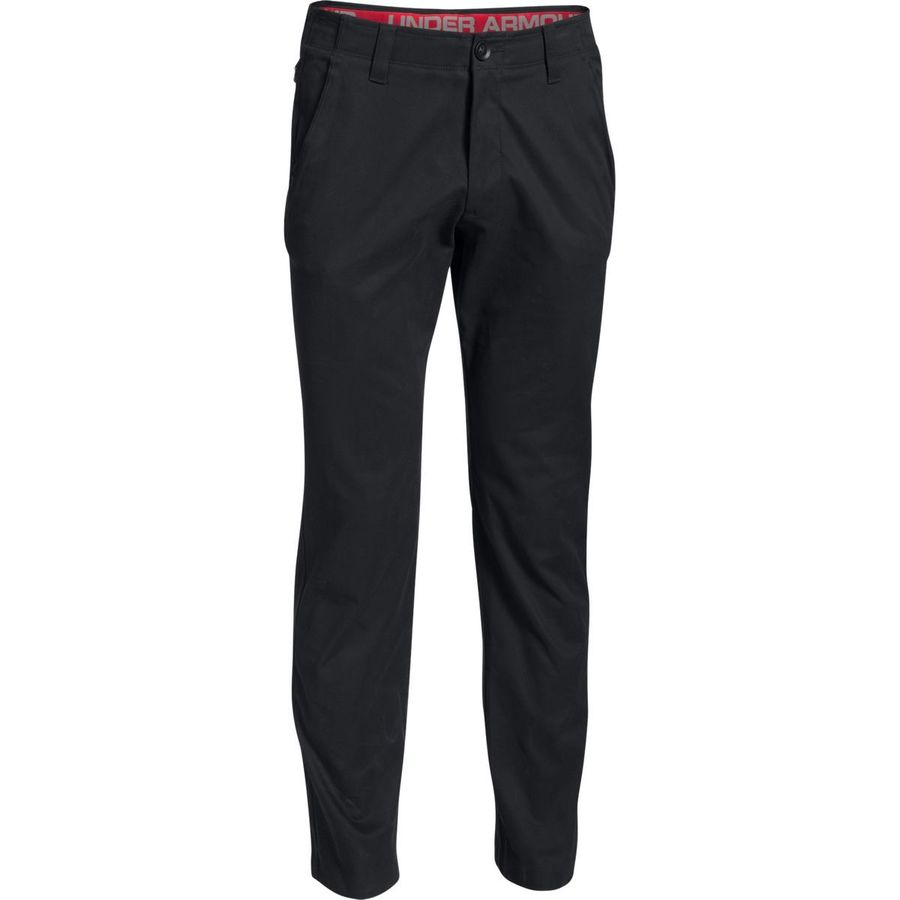 Under Armour Performance Tapered Leg Chino Pant - Men's Black Black アウトドア メンズ 男性用 パンツ ズボン スラックス Casual Pants