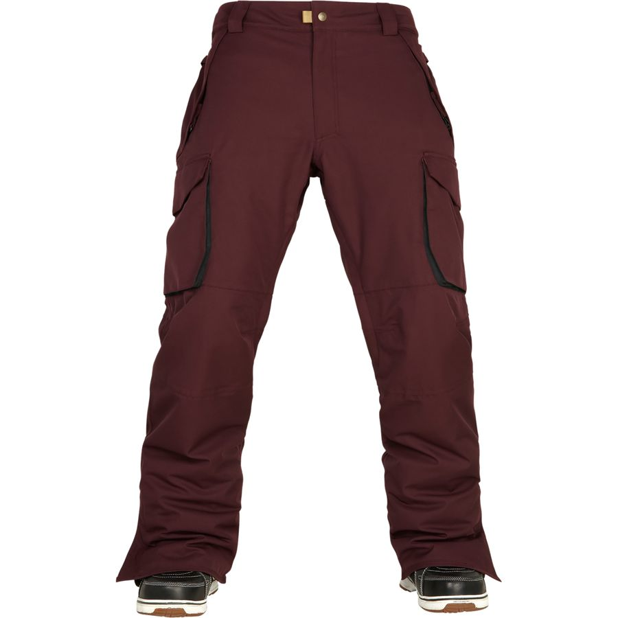 最新作の 686 Authentic スラックス Infinity Cargo Insulated Pant - Men's Black Pant Pants Ruby アウトドア メンズ 男性用 スノーボード スノボ パンツ ズボン スラックス Snowboard Pants, ILLEST:f1ff6562 --- business.personalco5.dominiotemporario.com