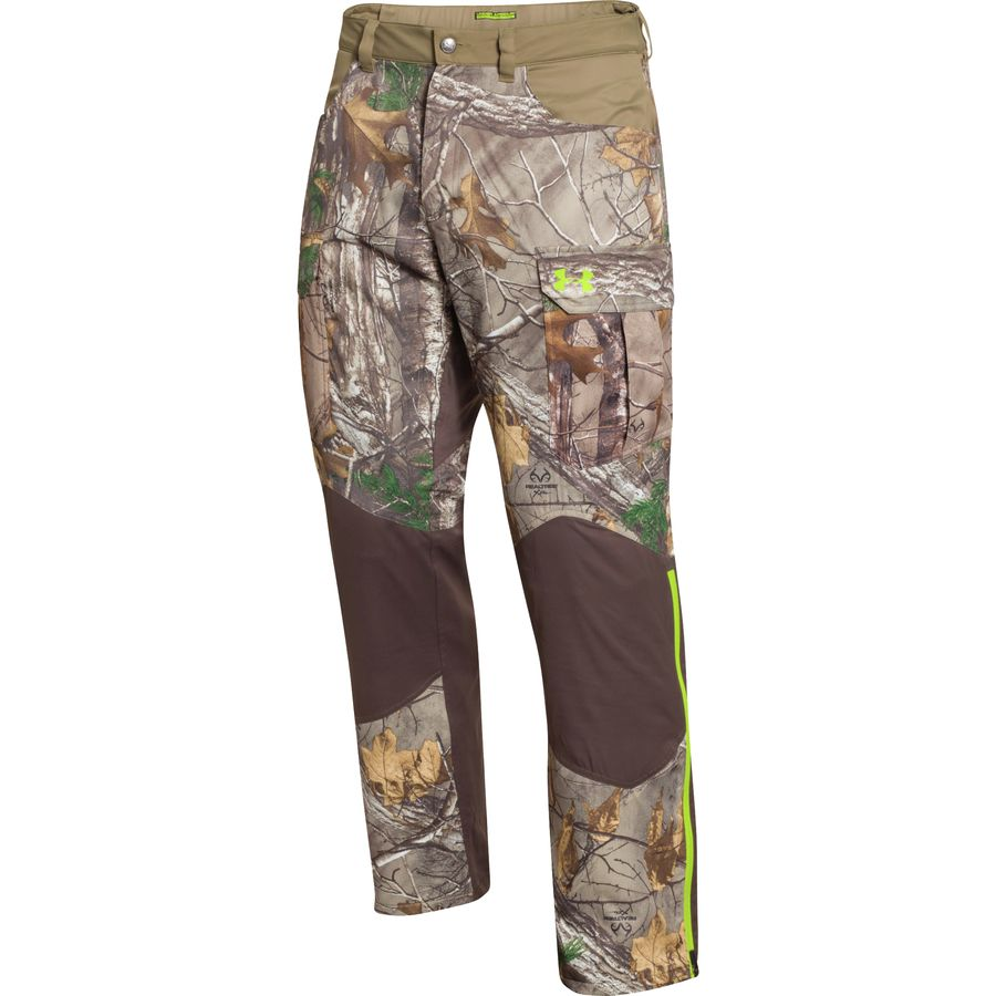 Under Armour ColdGear Infrared Scent Control Barrier Pant - Men's Realtree AP Xtra Velocity アウトドア メンズ 男性用 ハイキング クライミング パンツ ズボン スラックス Hiking And Climbing Pants