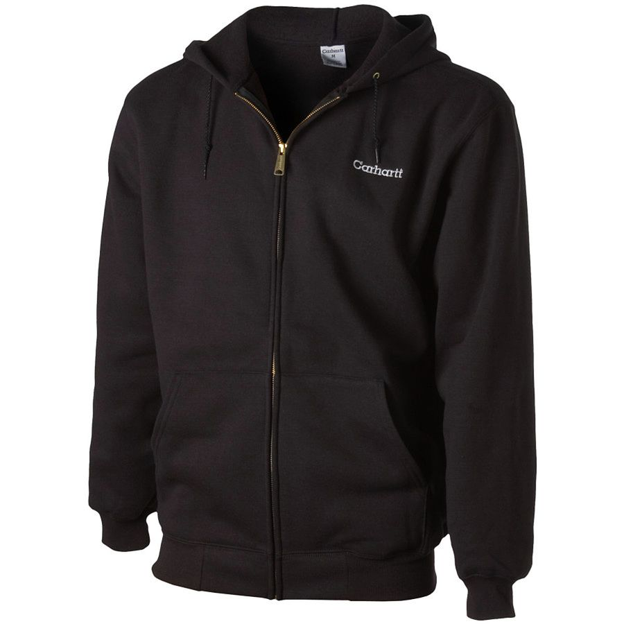国産品 Carhartt Midweight Full-Zip Hooded パーカー Sweatshirt - Men's Black スウェット アウトドア Midweight メンズ 男性用 パーカー スウェット Hoodies & Sweatshirts, スニーカーケース:3cc771e1 --- konecti.dominiotemporario.com