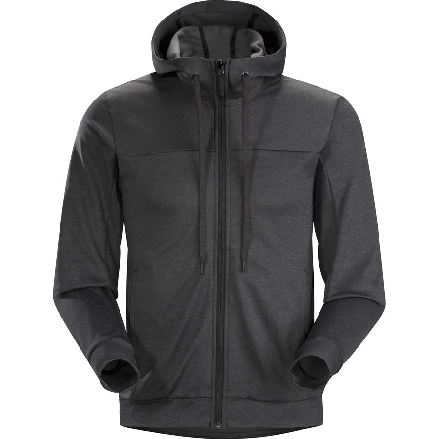 Arc'teryx Slocan Hooded Fleece Jacket - Men's Black アウトドア メンズ 男性用 パーカー スウェット Hoodies & Sweatshirts