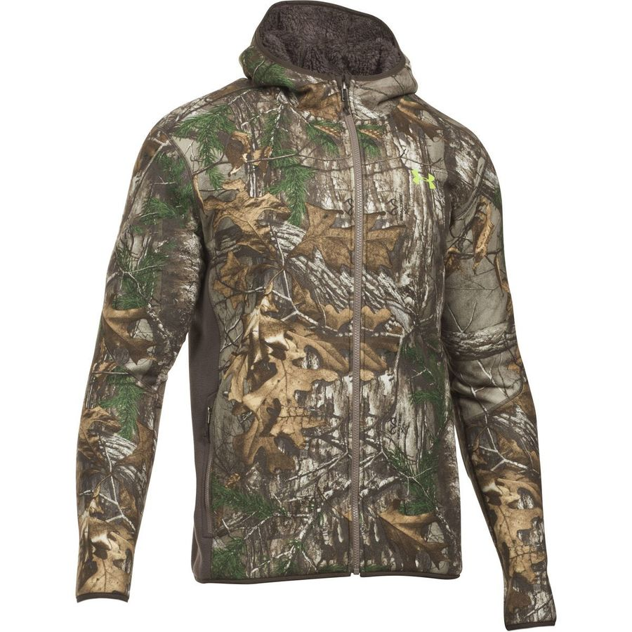 Under Armour Stealth Full-Zip Fleece Hoodie - Men's Realtree Ap-xtra Velocity アウトドア メンズ 男性用 パーカー スウェット Hoodies & Sweatshirts