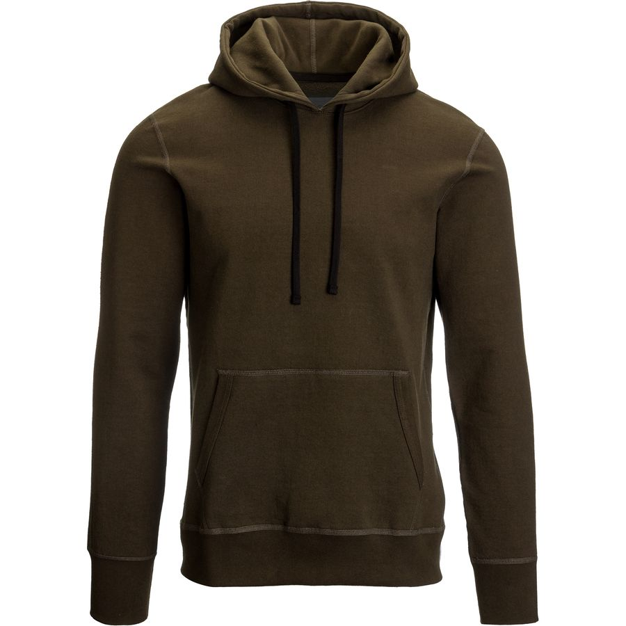 Reigning Champ Pullover Hooded Sweatshirt - Men's Olive アウトドア メンズ 男性用 パーカー スウェット Hoodies & Sweatshirts