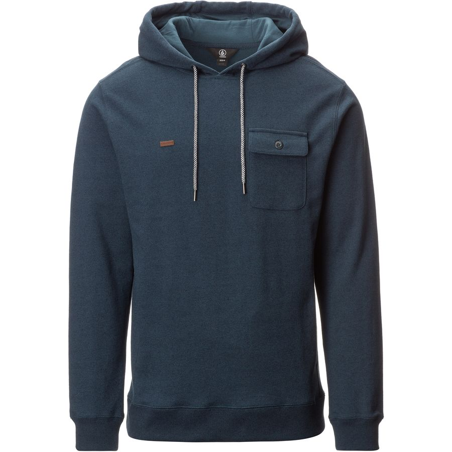 Volcom Elba Pullover Hoodie - Men's Airforce Blue アウトドア メンズ 男性用 パーカー スウェット Hoodies & Sweatshirts