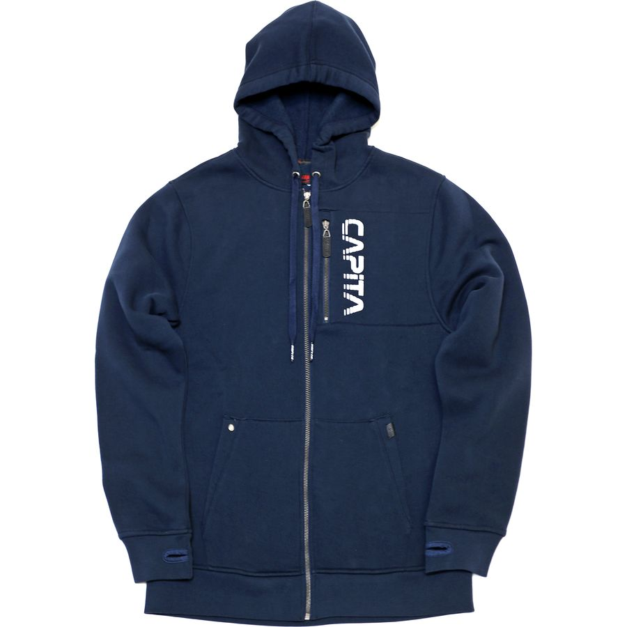 Capita Mercury Full-Zip Hoodie - Men's One Color アウトドア メンズ 男性用 パーカー スウェット Hoodies & Sweatshirts