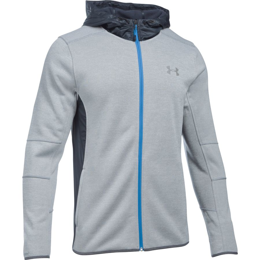 Under Armour Storm Swacket Full-Zip Hoodie - Men's Steel アウトドア メンズ 男性用 パーカー スウェット Hoodies & Sweatshirts