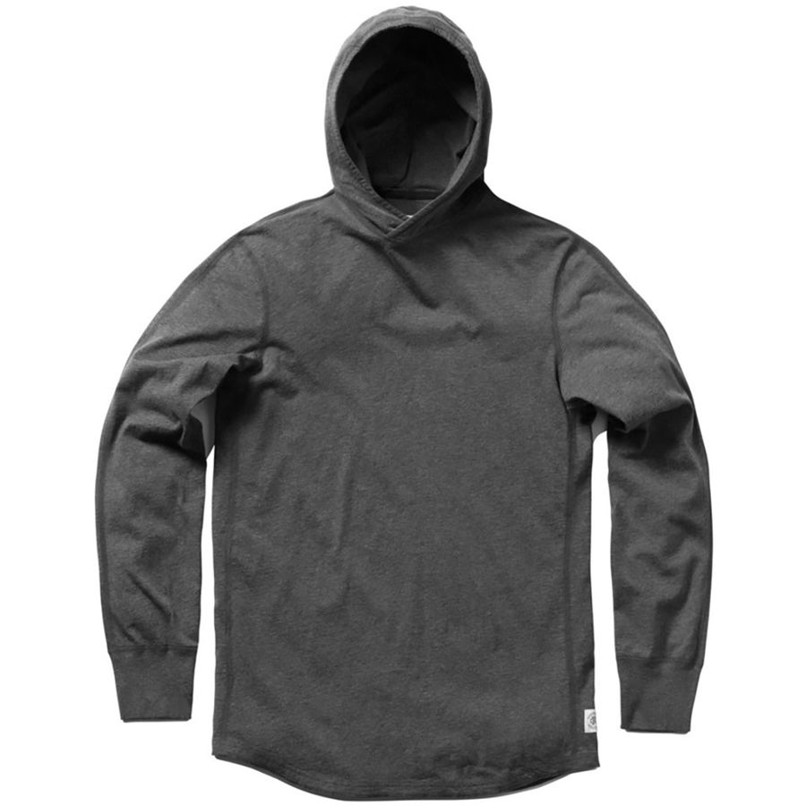 Reigning Champ Pullover Hoodie - Men's Heather Charcoal アウトドア メンズ 男性用 パーカー スウェット Hoodies & Sweatshirts