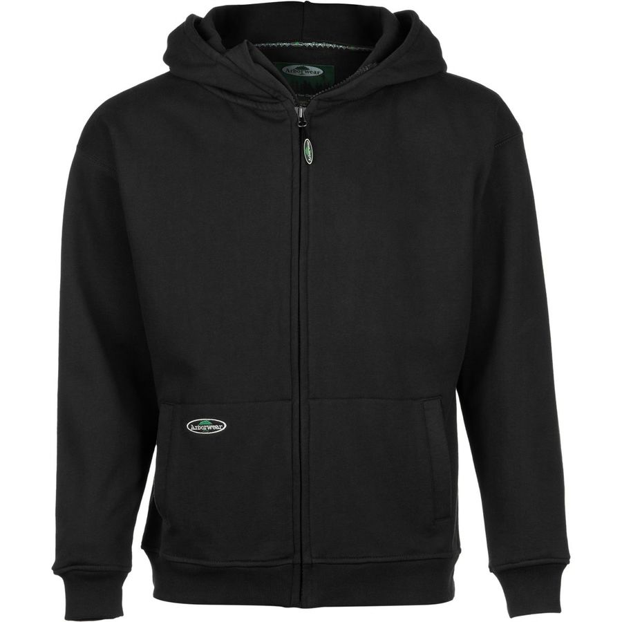 Arborwear Double Thick Full-Zip Hooded Sweatshirt - Men's Black アウトドア メンズ 男性用 パーカー スウェット Hoodies & Sweatshirts