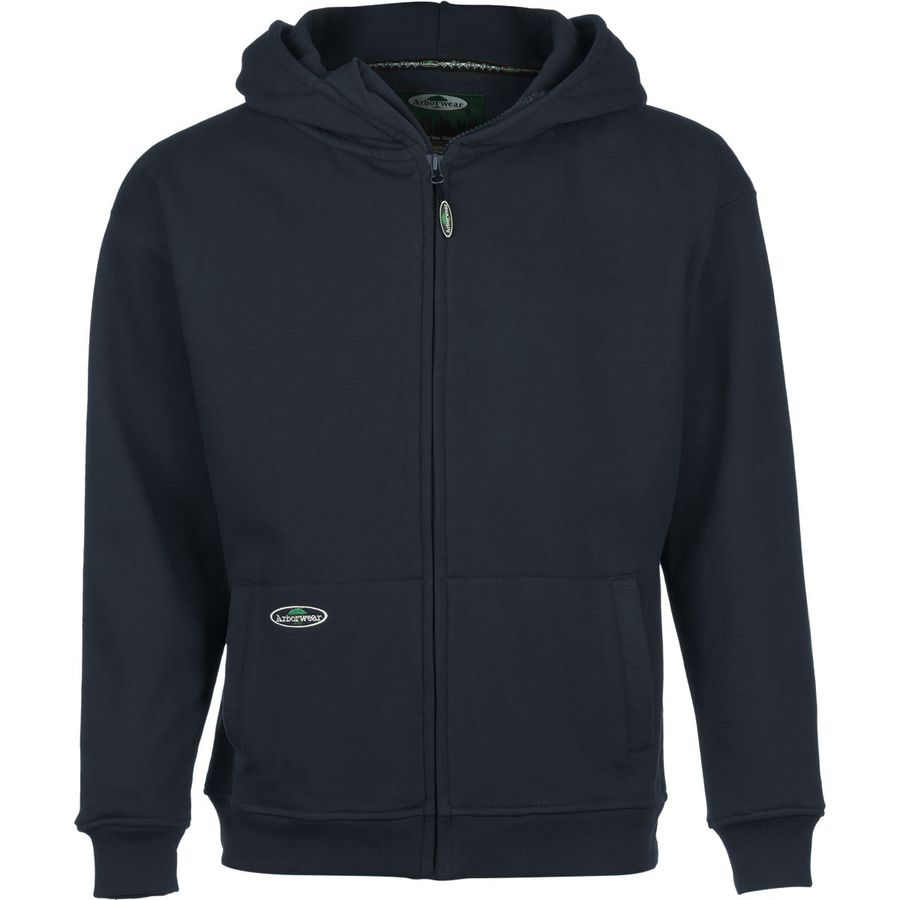 Arborwear Double Thick Full-Zip Hooded Sweatshirt - Men's Navy アウトドア メンズ 男性用 パーカー スウェット Hoodies & Sweatshirts