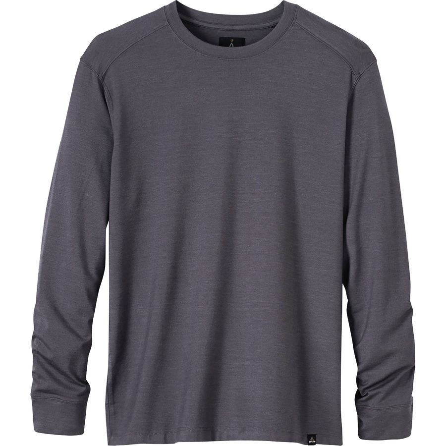 Prana Decco Crew Sweatshirt - Men's Charcoal アウトドア メンズ 男性用 パーカー スウェット Hoodies & Sweatshirts