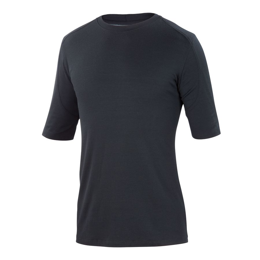 Ibex Seventeen.5 T-Shirt - Short-Sleeve - Men's Black アウトドア メンズ 男性用 シャツ Performance Shirts
