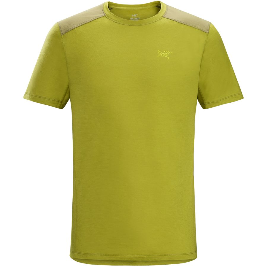 Arc'teryx Pelion Comp Shirt - Short-Sleeve - Men's Bamboo アウトドア メンズ 男性用 シャツ Performance Shirts