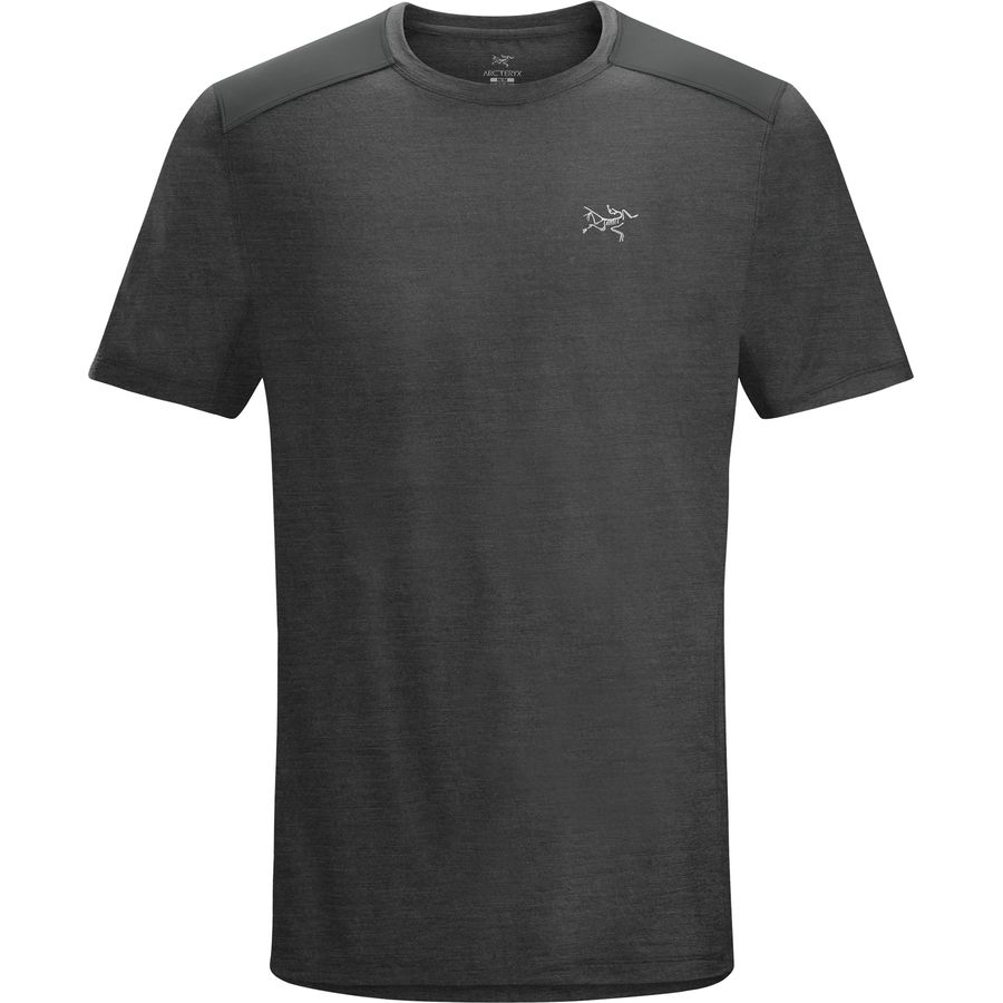 Arc'teryx Pelion Comp Shirt - Short-Sleeve - Men's Magnet アウトドア メンズ 男性用 シャツ Performance Shirts