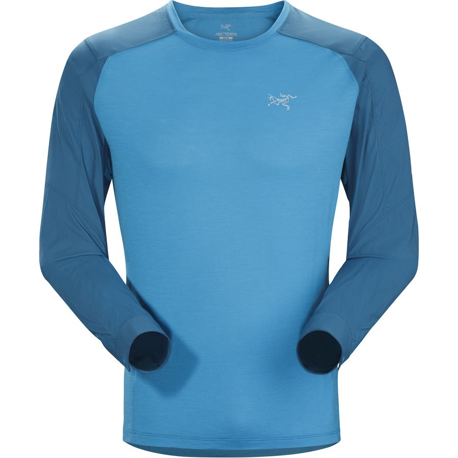Arc'teryx Pelion Comp Shirt - Long-Sleeve - Men's Adriatic Blue アウトドア メンズ 男性用 シャツ Performance Shirts