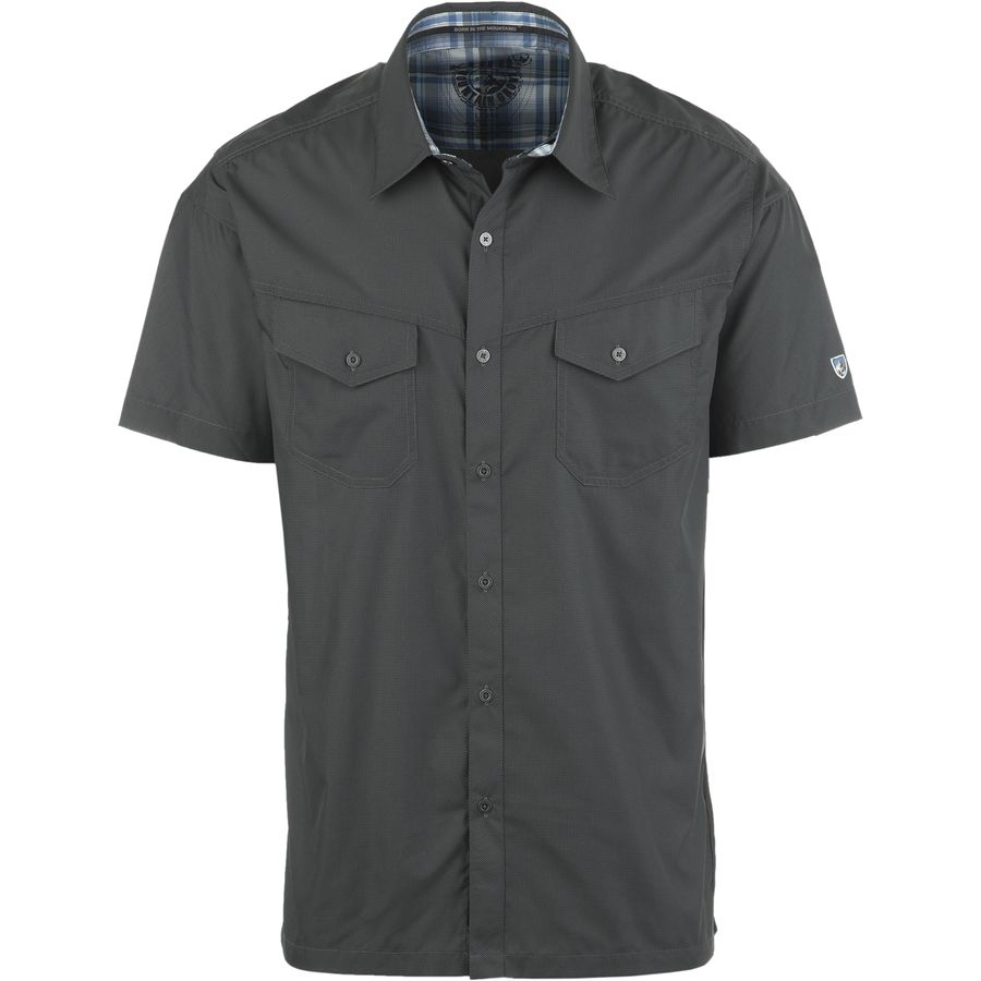 K?HL Stealth Shirt - Short-Sleeve - Men's Black Koal アウトドア メンズ 男性用 シャツ Button-Down Shirts