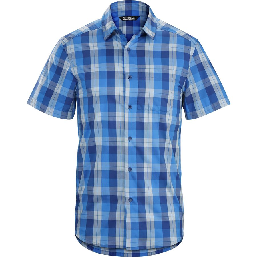 Arc'teryx Brohm Shirt - Short-Sleeve - Men's Seven Seas アウトドア メンズ 男性用 シャツ Button-Down Shirts