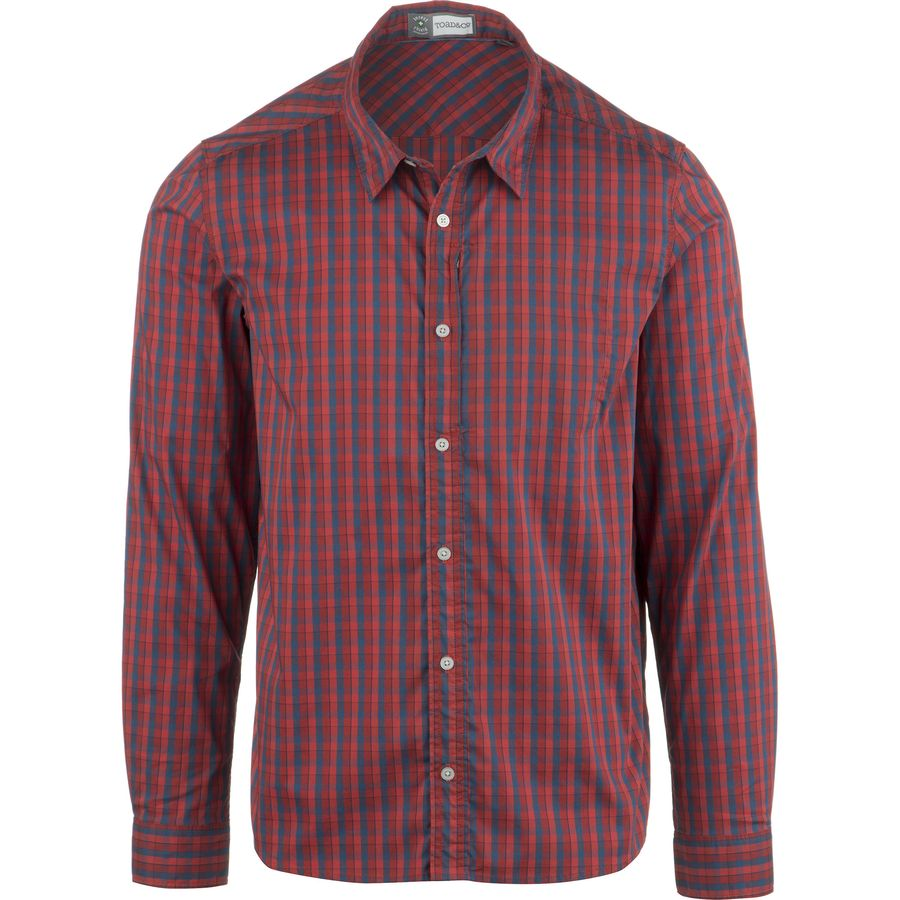YUNY Men Business Long-Sleeve Casual Plaid Button Down Western Shirt White S
