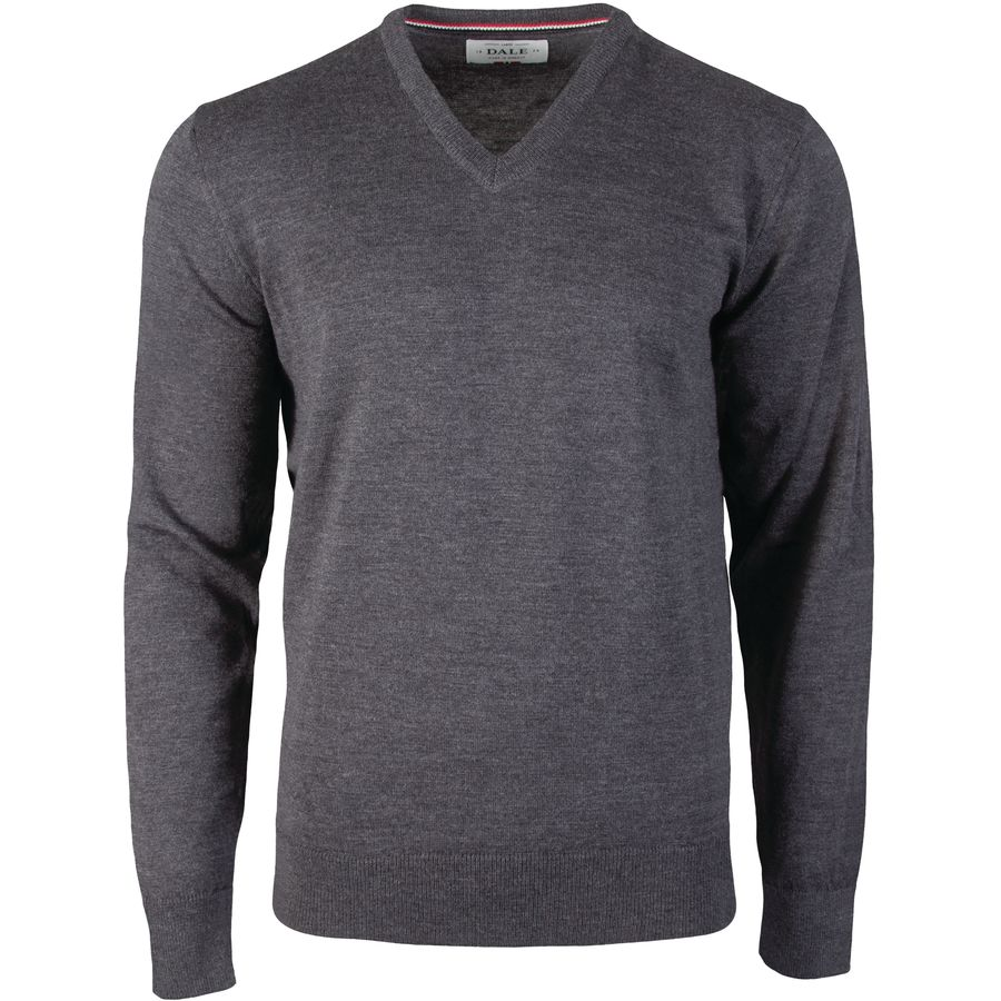 Dale of Norway Harald Sweater - Men's Dark Grey Melange アウトドア メンズ 男性用 セーター Sweaters