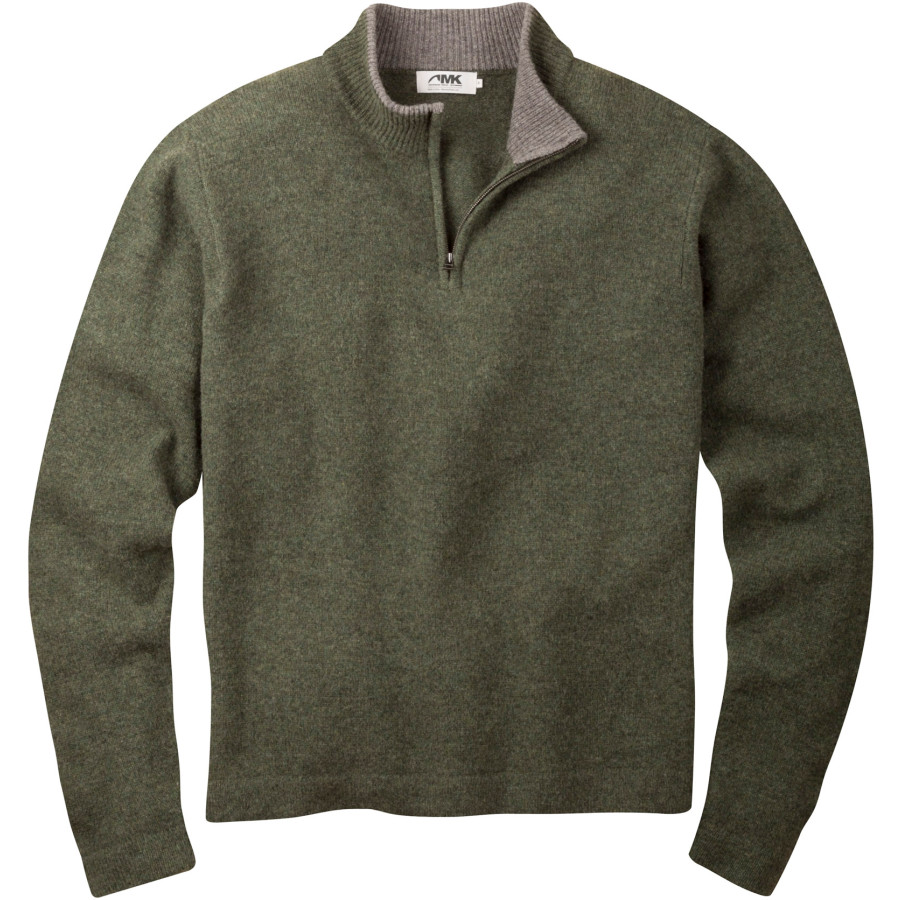 Mountain Khakis Lodge 1 4-Zip Sweater - Men's Loden アウトドア メンズ 男性用 セーター Sweaters