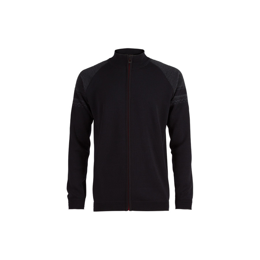 Dale of Norway Beito Jacket - Men's Black Dark Charcoal アウトドア メンズ 男性用 セーター Sweaters