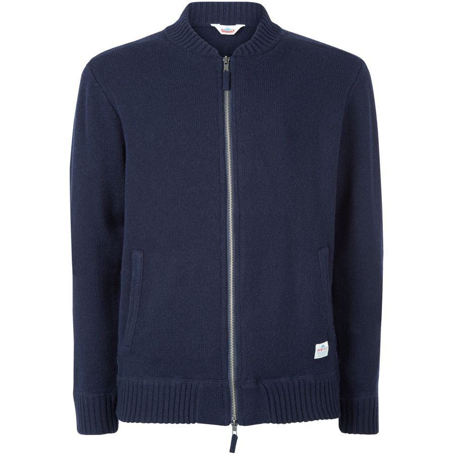 Penfield Eastport Knit Bomber Sweater - Men's Navy アウトドア メンズ 男性用 セーター Sweaters