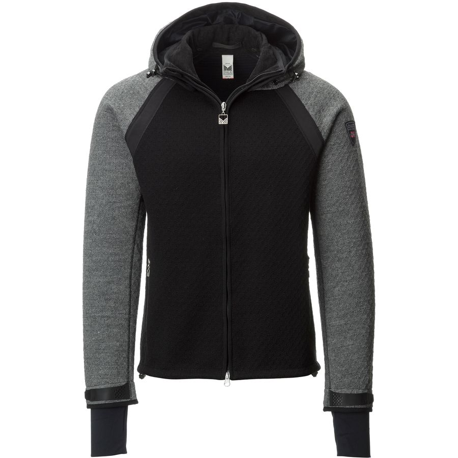 Dale of Norway Jotunheimen Knitshell Jacket - Men's Black Smoke アウトドア メンズ 男性用 セーター Sweaters