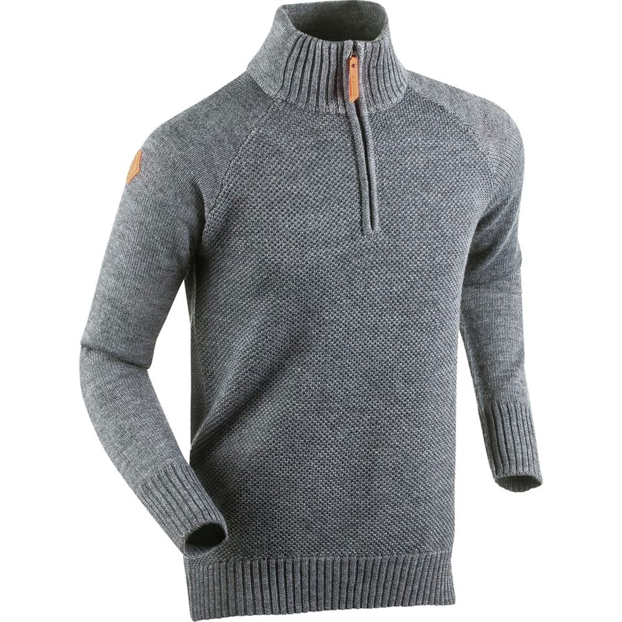 Bjorn Daehlie Cabin Half-Zip Sweater - Men's Silver Filgree アウトドア メンズ 男性用 セーター Sweaters