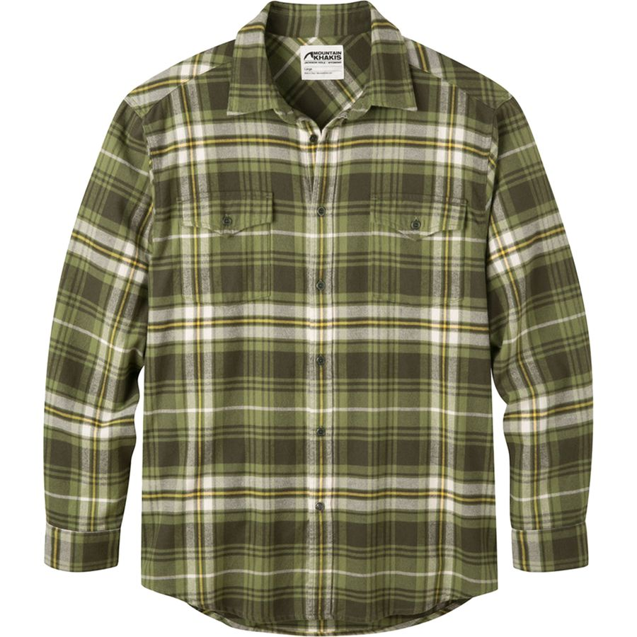 Mountain Khakis Teton Flannel Shirt - Men's Scout アウトドア メンズ 男性用 シャツ ジャケット Flannel Shirts And Jackets