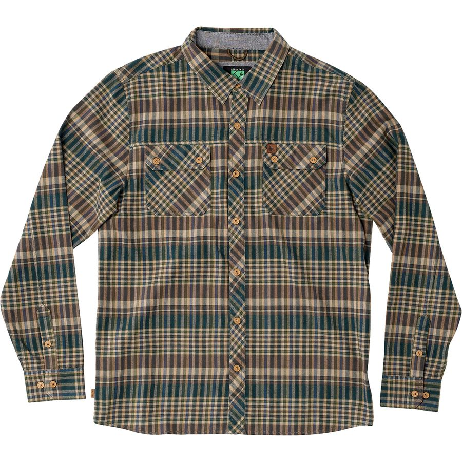 Hippy Tree Morro Flannel Shirt - Long-Sleeve - Men's Tan アウトドア メンズ 男性用 シャツ ジャケット Flannel Shirts And Jackets