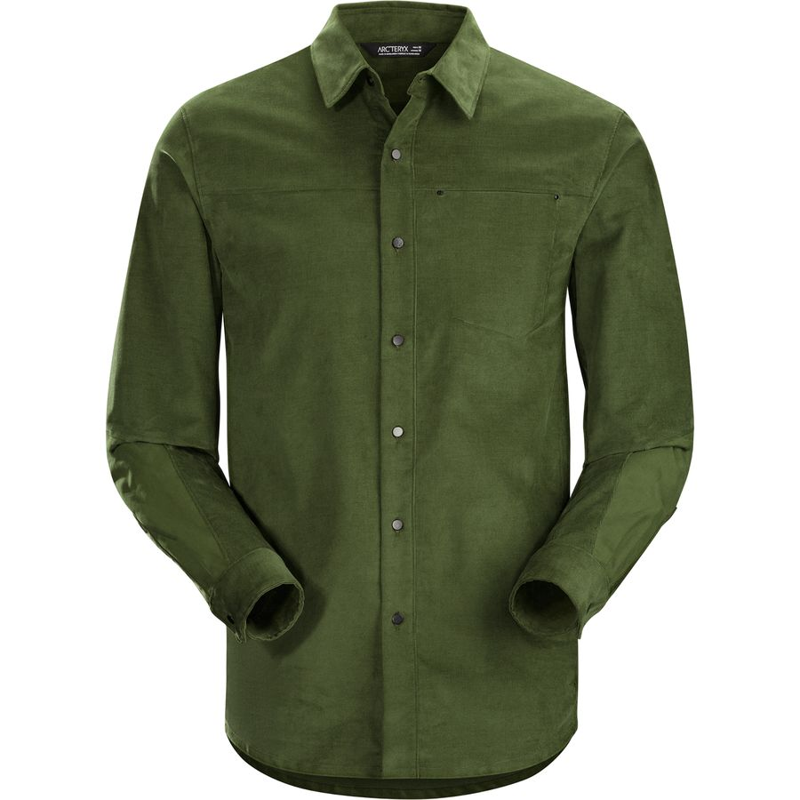Arc'teryx Merlon Shirt - Long-Sleeve - Men's Dark Moss アウトドア メンズ 男性用 シャツ ジャケット Flannel Shirts And Jackets