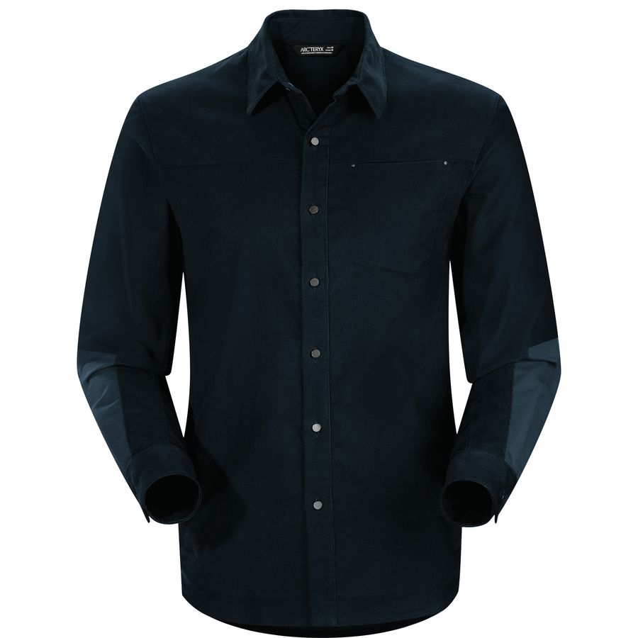 Arc'teryx Merlon Shirt - Long-Sleeve - Men's Admiral アウトドア メンズ 男性用 シャツ ジャケット Flannel Shirts And Jackets