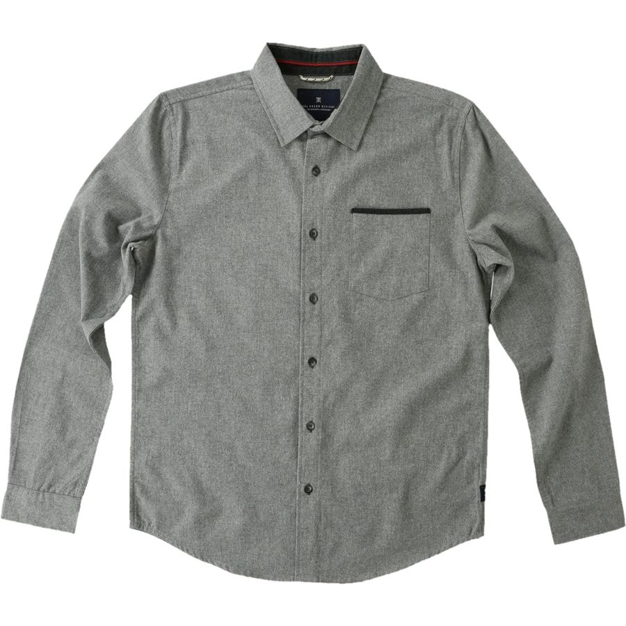 Roark Revival Long Beach Flannel Shirt Men's Grey アウトドア メンズ 男性用 シャツ ジャケット Flannel Shirts And Jackets