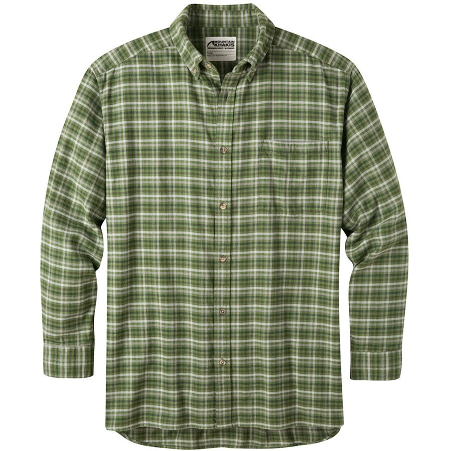 Mountain Khakis Downtown Flannel Shirt - Men's Scout アウトドア メンズ 男性用 シャツ ジャケット Flannel Shirts And Jackets