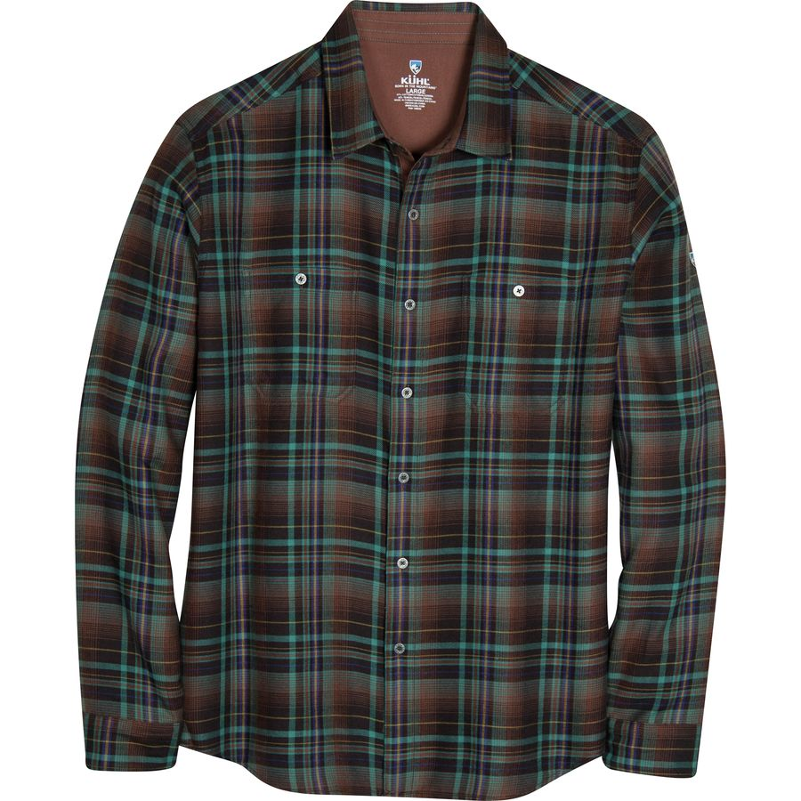 K?HL Fugitive Shirt - Men's Mint Chocolate Chip アウトドア メンズ 男性用 シャツ ジャケット Flannel Shirts And Jackets