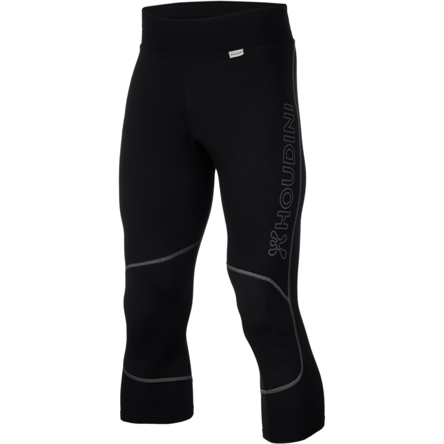 Houdini Alpine Alphies Bottom - Men's True Black True Black アウトドア メンズ 男性用 ロングアンダーウェア Long Underwear