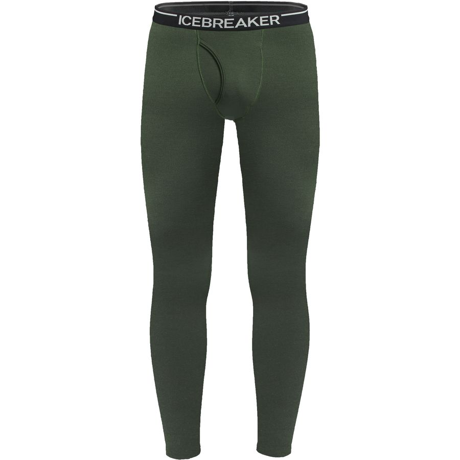 Icebreaker Bodyfit 260 Midweight Apex Leggings with Fly - Men's Cargo アウトドア メンズ 男性用 ロングアンダーウェア Long Underwear