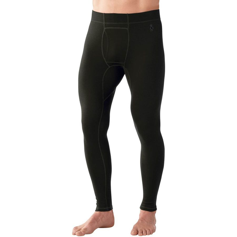 SmartWool NTS Midweight Bottom - Men's Olive Heather アウトドア メンズ 男性用 ロングアンダーウェア Long Underwear