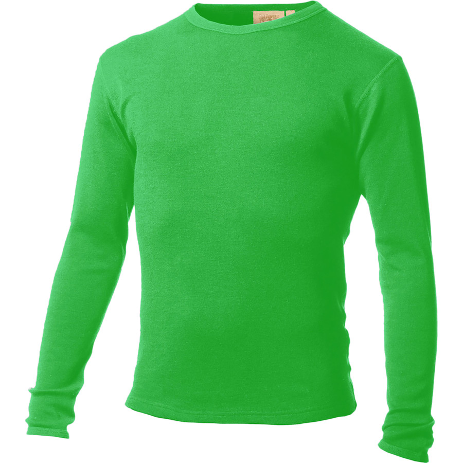 Minus 33 Ticonderoga Lightweight Crew Top - Men's Zephyr Green アウトドア メンズ 男性用 ロングアンダーウェア Long Underwear