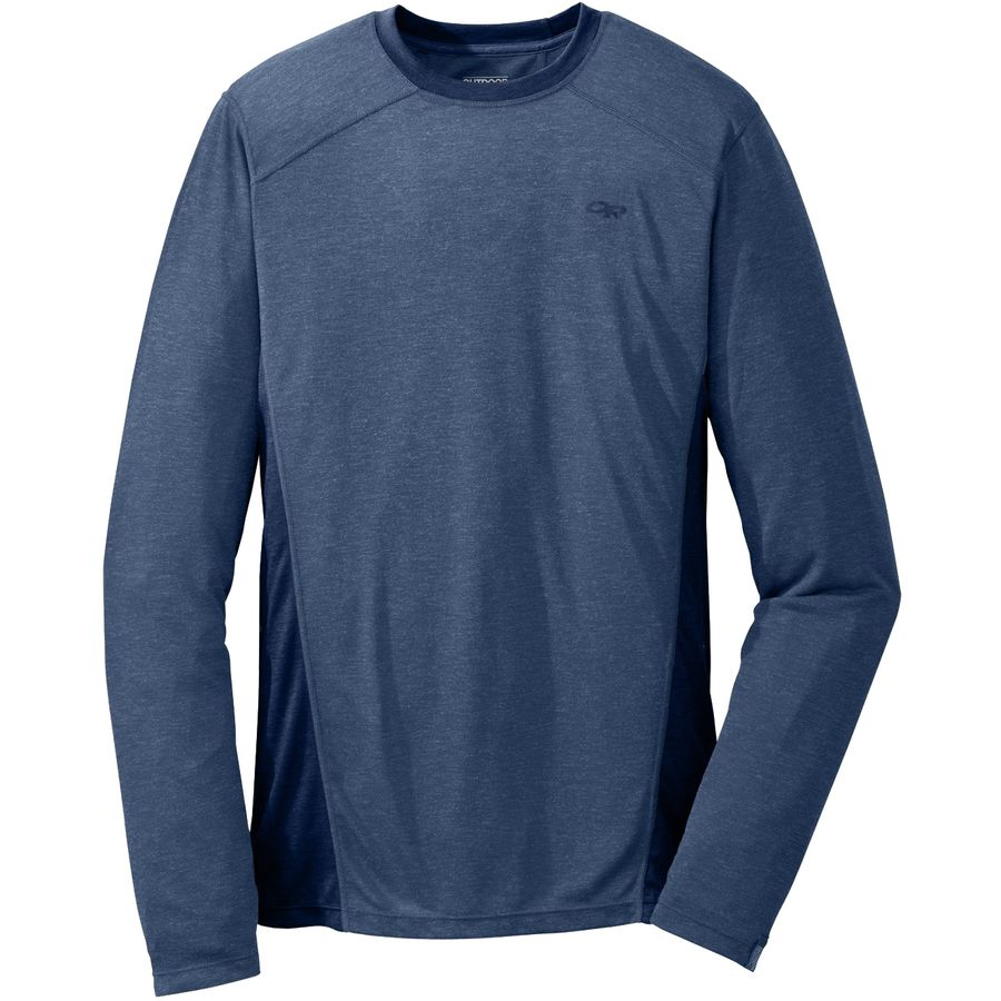 Outdoor Research Sequence Crew Top - Men's Dusk Night アウトドア メンズ 男性用 ロングアンダーウェア Long Underwear